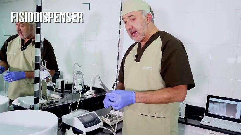 aparato para la preparacion de los implantes dentales